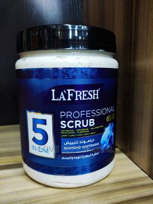 La'fresh 5in1 Diamond Professional Scrub for Deep Exfoliate | Skin Care for sale in Lagos State, Amuwo-Odofin