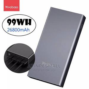 Yoobao 99WH 26800mah 3 Input 4 Output Quick Charging | Accessories for Mobile Phones & Tablets for sale in Lagos State, Alimosho