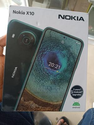 New Nokia X10 128 GB Black | Mobile Phones for sale in Lagos State, Ikeja