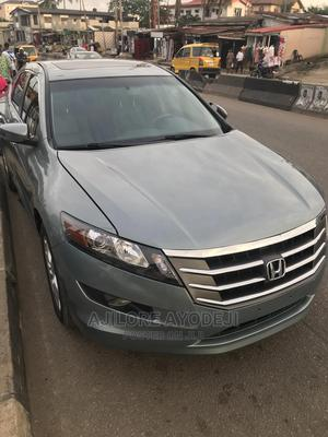 Honda Accord Crosstour 2013 EX-L w/Navigation AWD Gray | Cars for sale in Lagos State, Ogba