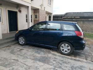 Toyota Matrix 2004 Blue   Cars for sale in Lagos State, Ikeja