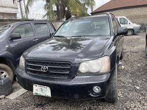 Toyota Highlander 2004 Limited V6 4x4 Black | Cars for sale in Lagos State, Ojodu