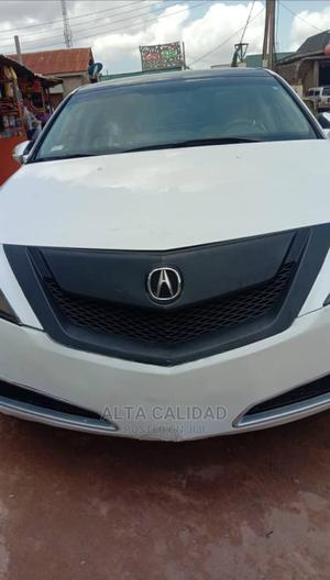 Acura ZDX 2011 Base AWD White | Cars for sale in Lagos State, Ipaja