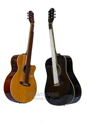 Semi Acoustic Box Guitar | Musical Instruments & Gear for sale in Lagos State, Tarkwa Bay Island