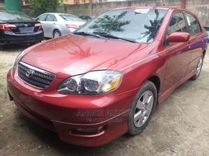 Toyota Corolla 2006 S Red   Cars for sale in Lagos State, Isolo