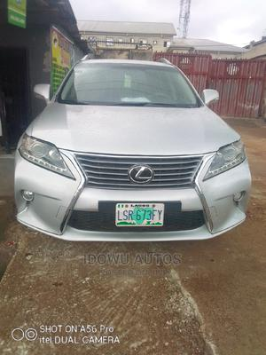 Lexus RX 2010 350 Silver | Cars for sale in Lagos State, Ejigbo