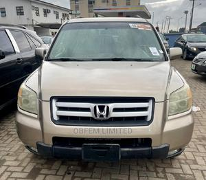 Honda Pilot 2006 EX-L 4x4 (3.5L 6cyl 5A) Gold | Cars for sale in Lagos State, Alimosho