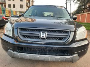 Honda Pilot 2004 LX 4x4 (3.5L 6cyl 5A) Black | Cars for sale in Lagos State, Ikeja