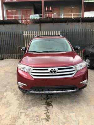 Toyota Highlander 2013 Red | Cars for sale in Lagos State, Surulere