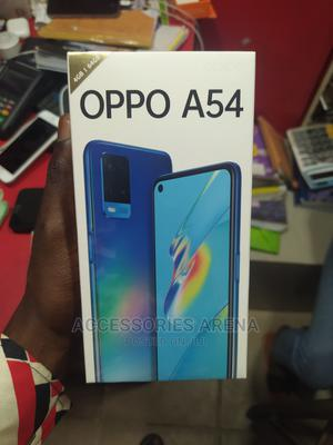 New Oppo A54 64 GB Blue | Mobile Phones for sale in Lagos State, Ikeja