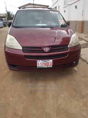 Toyota Sienna 2004 LE AWD (3.3L V6 5A) Red   Cars for sale in Lagos State, Oshodi