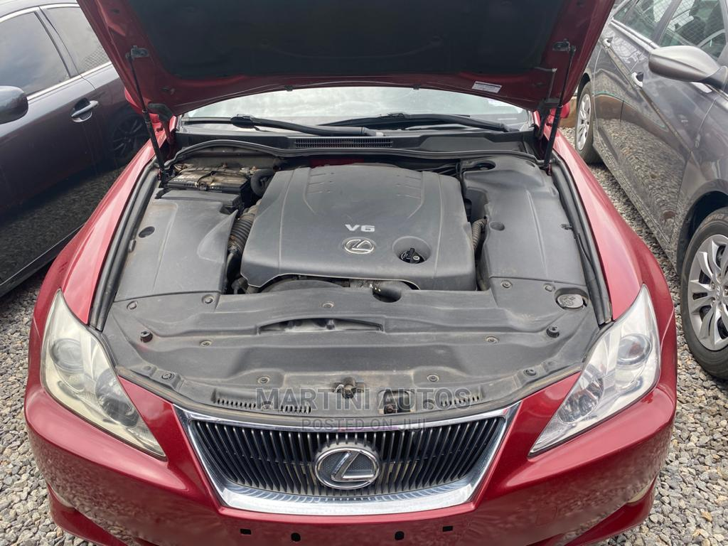 Lexus IS 2007 Red | Cars for sale in Yaba, Lagos State, Nigeria