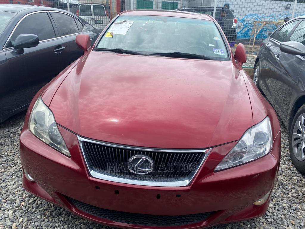 Lexus IS 2007 Red
