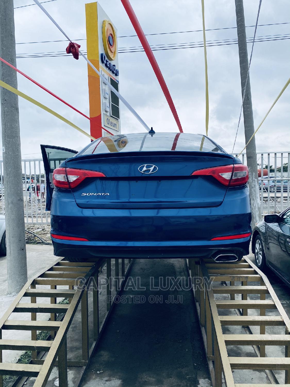 Hyundai Sonata 2016 SE Blue   Cars for sale in Lekki, Lagos State, Nigeria
