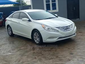 Hyundai Sonata 2011 White   Cars for sale in Lagos State, Ikeja