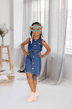 Denim Gown for Baby Girl | Children's Clothing for sale in Rivers State, Obio-Akpor