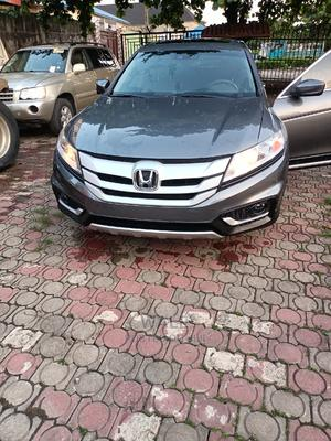 Honda Accord Crosstour 2014 EX-L AWD Gray | Cars for sale in Lagos State, Magodo