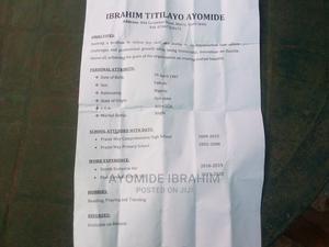 Sales Telemarketing CV   Hotel CVs for sale in Oyo State, Atiba
