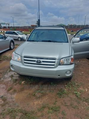 Toyota Highlander 2005 Silver   Cars for sale in Lagos State, Ikeja