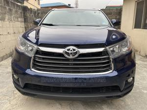 Toyota Highlander 2015 Blue   Cars for sale in Lagos State, Surulere