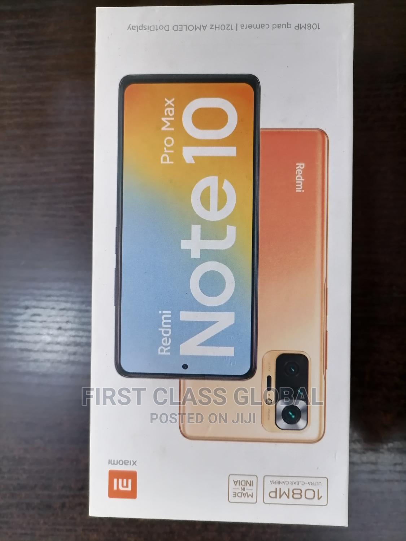 New Xiaomi Redmi Note 10 Pro 128 GB Gray   Mobile Phones for sale in Ikeja, Lagos State, Nigeria