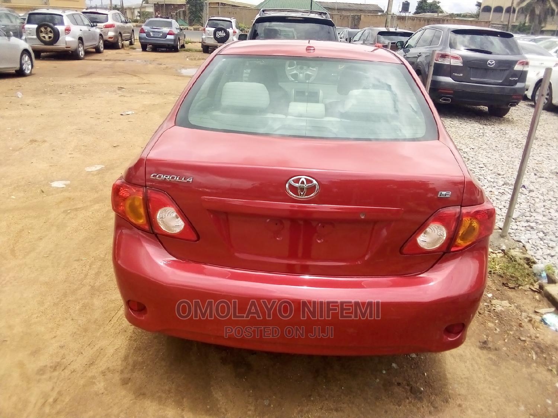 Toyota Corolla 2009 Red   Cars for sale in Ibadan, Oyo State, Nigeria