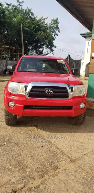 Toyota Tacoma 2008 4x4 Double Cab Red | Cars for sale in Oyo State, Ido