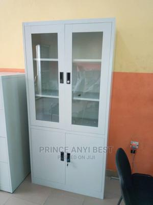 Glass Show Office Cabinet | Furniture for sale in Lagos State, Amuwo-Odofin