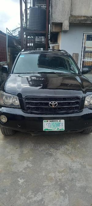 Toyota Highlander 2003 V6 FWD Black   Cars for sale in Lagos State, Alimosho