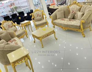 Quality 7 Seasters Egyptian With Center Table and Stools   Furniture for sale in Lagos State, Ojo