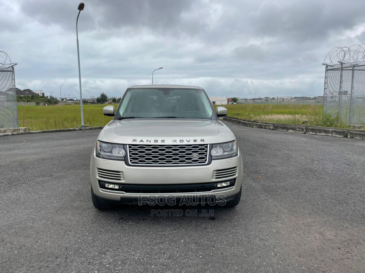 Land Rover Range Rover 2014 Gold   Cars for sale in Lekki, Lagos State, Nigeria