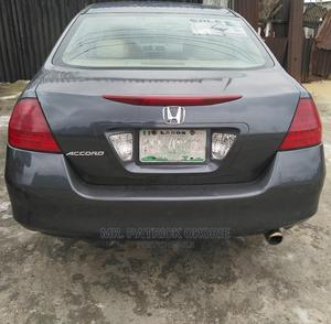 Honda Accord 2007 Gray   Cars for sale in Rivers State, Port-Harcourt