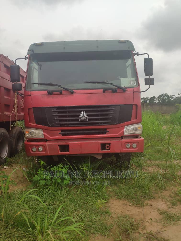 Howo Dump Truck 12 Tyres 45tons Foreign Used Tokunbo