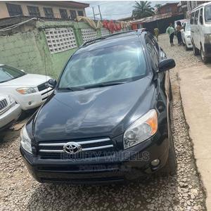Toyota RAV4 2007 Sport V6 4x4 Black | Cars for sale in Lagos State, Ogba