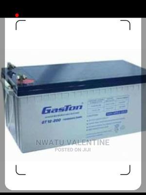 Gaston 200AH 12V Inverter Battery   Solar Energy for sale in Lagos State, Ojo