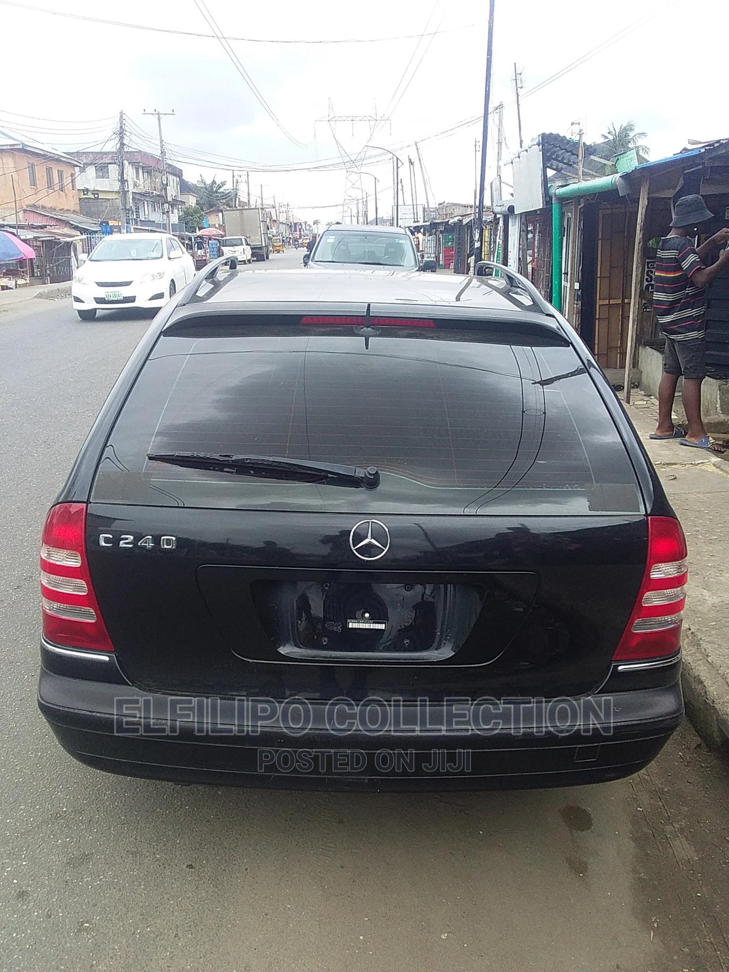 Mercedes-Benz C240 2005 Black   Cars for sale in Isolo, Lagos State, Nigeria