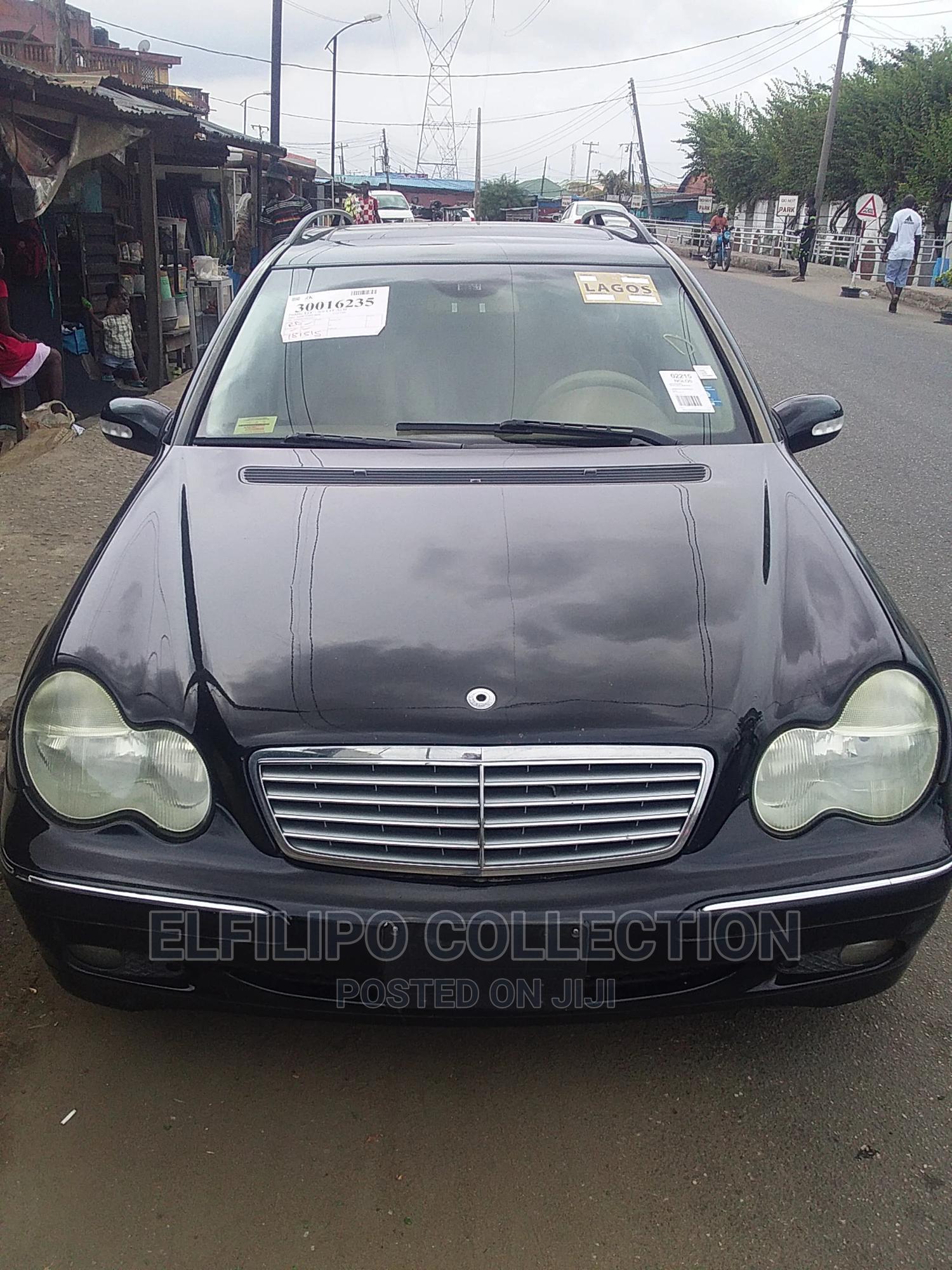 Mercedes-Benz C240 2005 Black