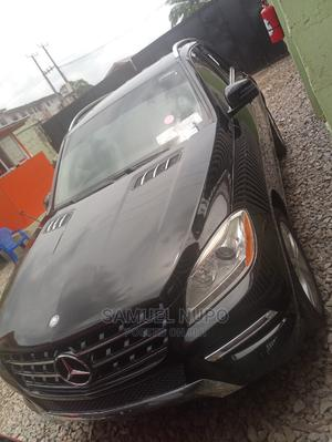 Mercedes-Benz M Class 2012 ML 350 4Matic Black   Cars for sale in Lagos State, Ifako-Ijaiye