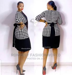 New Quality Female Strip Fitted Gown | Clothing for sale in Lagos State, Ikeja