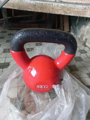 Piece of 8kg Kettlebell   Sports Equipment for sale in Rivers State, Port-Harcourt