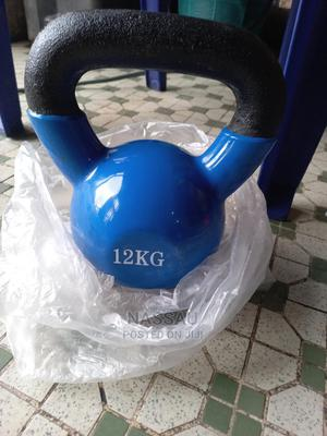 Piece of 12kg Kettlebell | Sports Equipment for sale in Abuja (FCT) State, Wuse