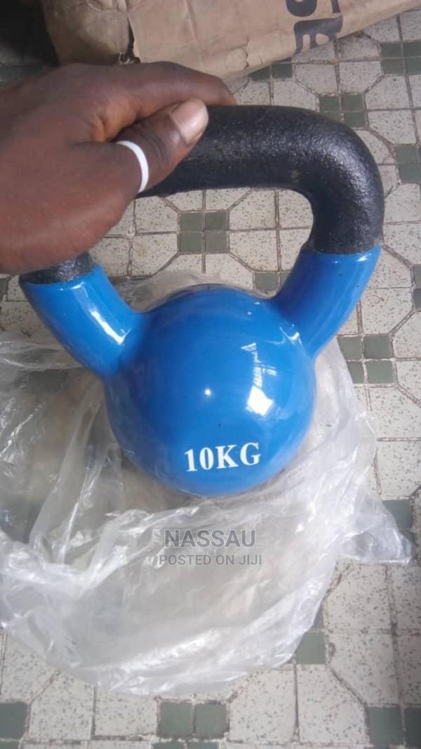 Piece of 10kg Kettlebell
