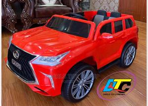 Red LEXUS LX570 Kids Electric Ride on Car | Toys for sale in Lagos State, Shomolu