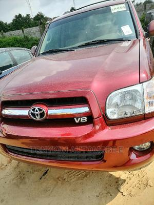 Toyota Sequoia 2006 Red | Cars for sale in Lagos State, Amuwo-Odofin