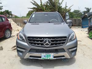 Mercedes-Benz M Class 2012 ML 550 4Matic Gray | Cars for sale in Lagos State, Lekki