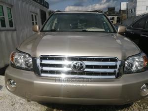 Toyota Highlander 2006 Limited V6 4x4 Gold | Cars for sale in Rivers State, Port-Harcourt