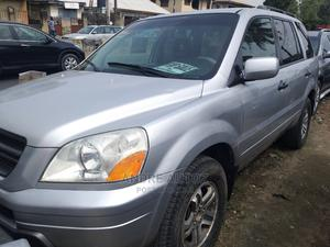Honda Pilot 2003 EX 4x4 (3.5L 6cyl 5A) Silver   Cars for sale in Lagos State, Isolo