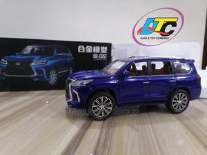 Blue 1:24 LEXUS LX570 Die-Cast Miniature Car Model. | Toys for sale in Lagos State, Shomolu