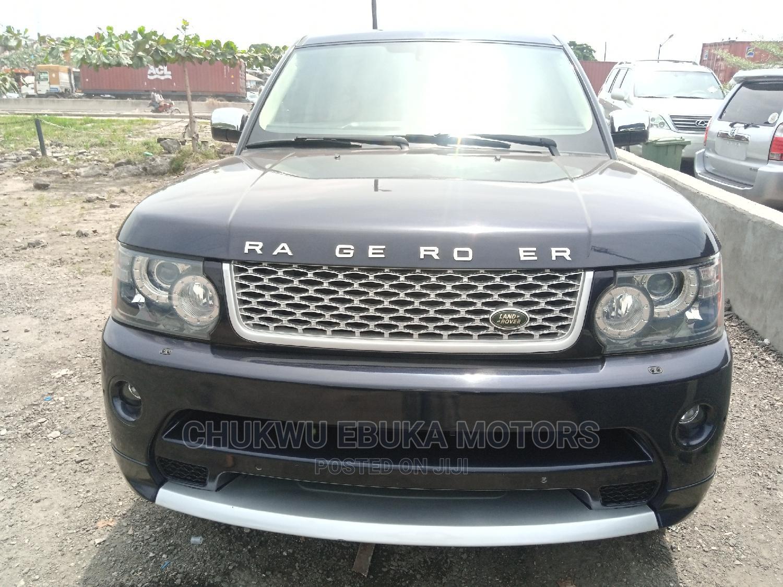 Land Rover Range Rover Sport 2010 HSE 4x4 (5.0L 8cyl 6A) Blue