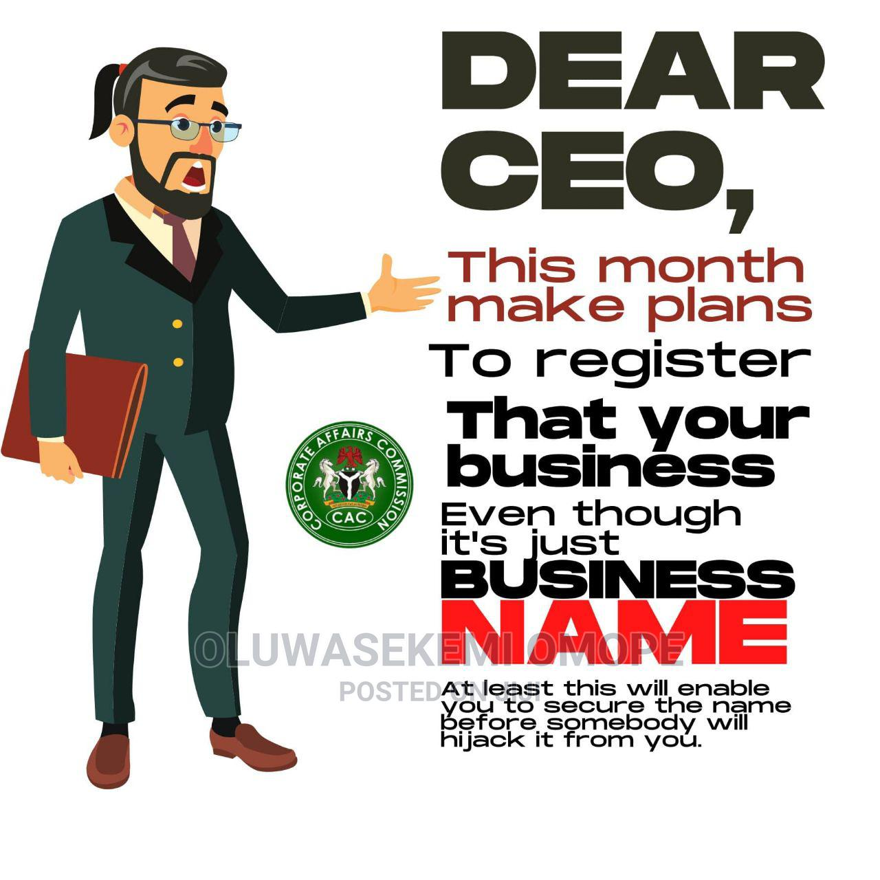 Business Registration With CAC | Legal Services for sale in Agboyi/Ketu, Lagos State, Nigeria